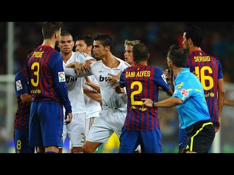 [FUN] The Dirty Side Of El Clasico - Fights, Fouls, Dives U0026 Red Cards 2014 Full HD