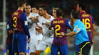 Repeat youtube video [FUN] The Dirty Side Of El Clasico - Fights, Fouls, Dives & Red cards 2014 Full HD