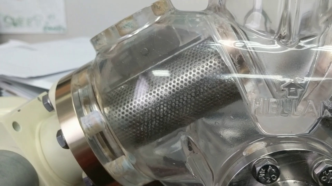 Hellan Strainer with Clear Body Screen