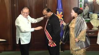 Farewell Call of the Amb. of Malaysia H.E. Dato Seri Dr. Ibrahim Saad - 6/22/2012