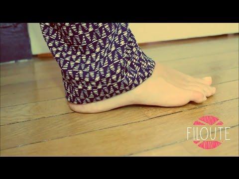 L 39 ourlet invisible avec le pied ourlet invisible en doovi - Comment faire un ourlet de jean ...