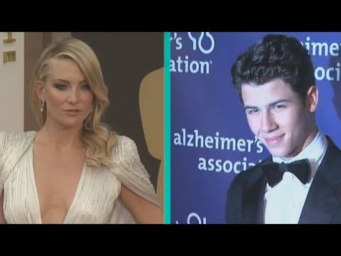 Are Kate Hudson and Nick Jonas Hooking Up? from YouTube · Duration:  49 seconds