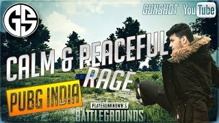 CALM And Peaceful Rage on PUBG   .ROAD TO 50 sponsors Paytm donos on screen