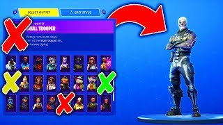 RARE Skins I REGRET Buying... (Fortnite: Battle Royale)