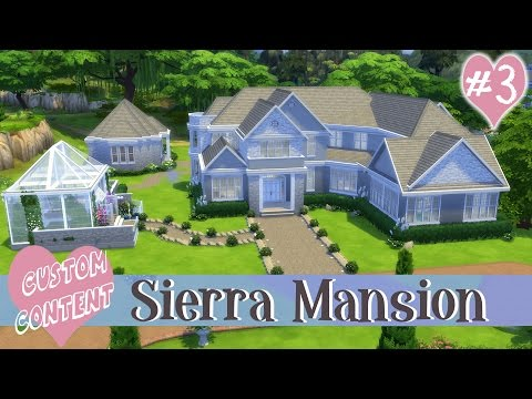 The Sims 4: CC Speed Build: Sierra Mansion #3