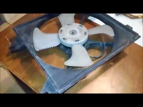 DC Fan Demonstrating Alternating Current