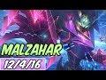 45% CDR MALZAHAR MID | Build & Runes | Diamond Battle Boss Malzahar | League of Legends | S9