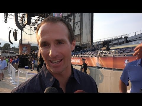 Drew Brees on being at LT