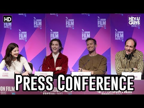 Call Me By Your Name Press Conference | Armie Hammer | Timot