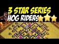 3 Star Series: Hog Rider Attack Strategy TH8 vs TH8 War Base #25 | Clash of Clans