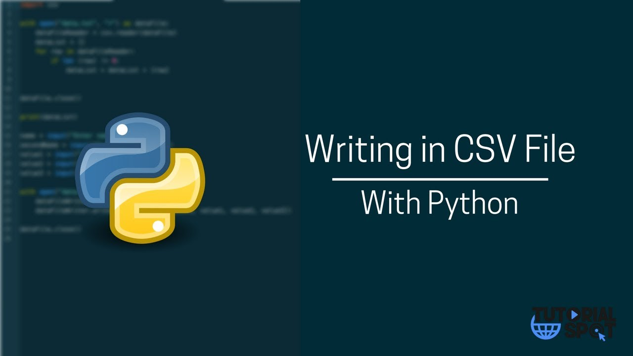 python read csv and write to new file