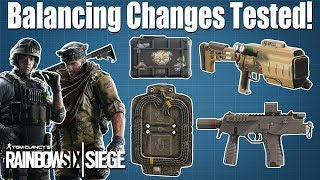 Burnt Horizon All Changes Tested - Rainbow Six Siege