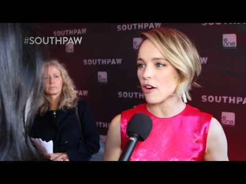 Southpaw Red Carpet Interview: Jake Gyllenhaal & Rachel McAdams (eOne Films)