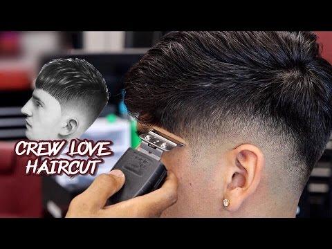 HAIRCUT TUTORIAL:  WALTER PEREZ | DROP FADE | THE CREW LOVE CUT