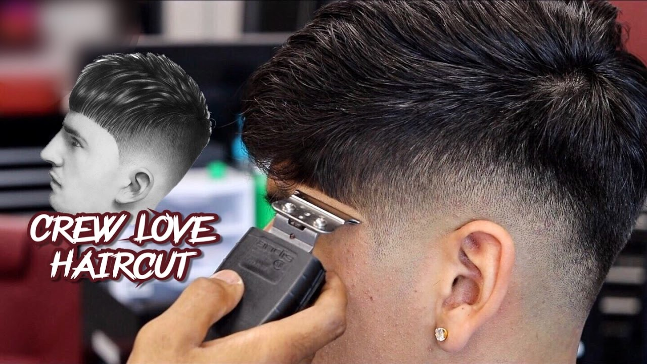 Haircut Tutorial Walter Perez Drop Fade The Crew Love Cut Youtube