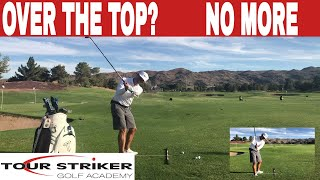 Tour Striker Educator | Shallowing Your Swing Plane For Powerful Strikes | Martin Chuck