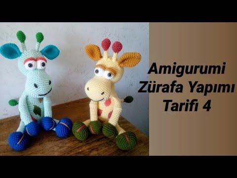 Amigurumi Örgü Oyuncak Modelleri – Amigurumi Şirin Zürafa Modeli ... | 360x480