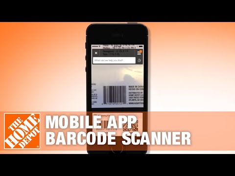 The Home Depot Mobile App - Barcode Scanner