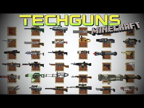 [FR]-TECHGUNS : DES MACHINES ET PLEINS DE FLINGUES !-[1.7.10]
