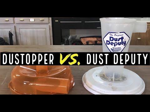 Dustopper vs Dust Deputy | Comparing the dust cyclone separators