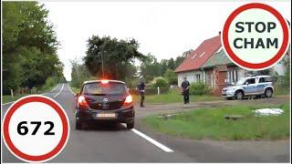 Stop Cham #672 - Niebezpieczne i chamskie sytuacje na drogach