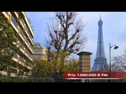 Agence immobiliere paris-vente appartement 3 pieces paris (75016)-proche Trocadero-iena