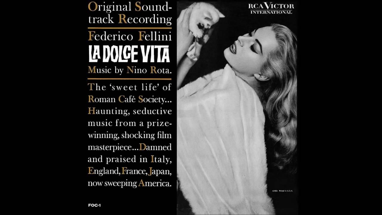 Nino Rota La Dolce Vita Soundtrack Youtube