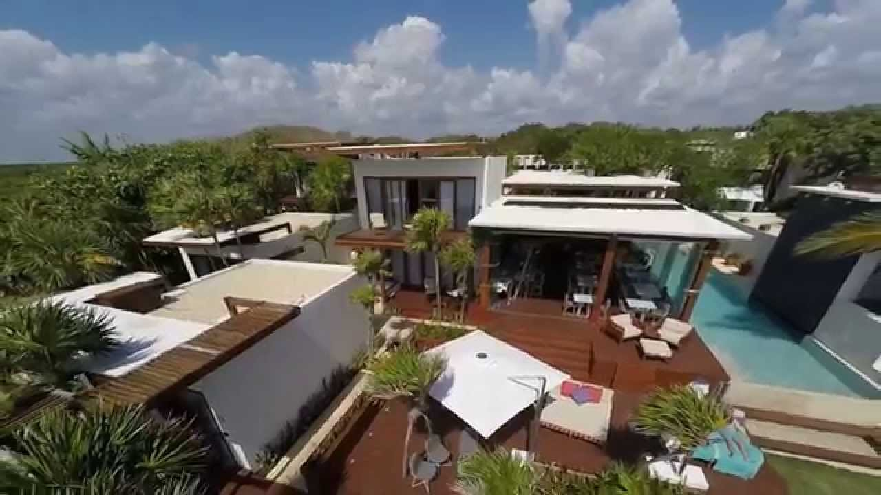 Hotel Mi Amor Tulum From The Air Full Hd