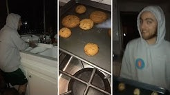 Ariana Grande Baking Cookies With Mac Miller
