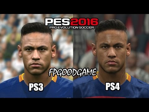 PES 2016 PS3 vs PS4 Barcelona Face Comparison