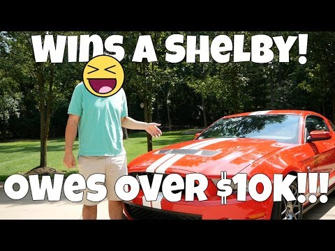 WINNING a SHELBY Mustang is EXPENSIVE! Here's how much it costs to WIN a CAR! (GT500)