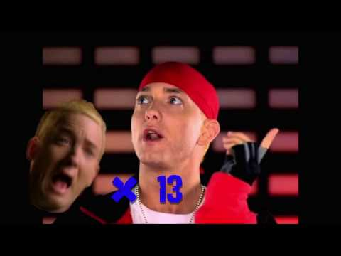 Just Lose It but every time Eminem does the scream it doesn't stop