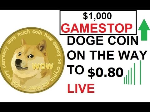 🐋Elon Musk HODL DOGE COIN On The Way To 80 CENTS DOGECOIN #DOGE #BTC #CRYPTO 🚀🚀 LIVE