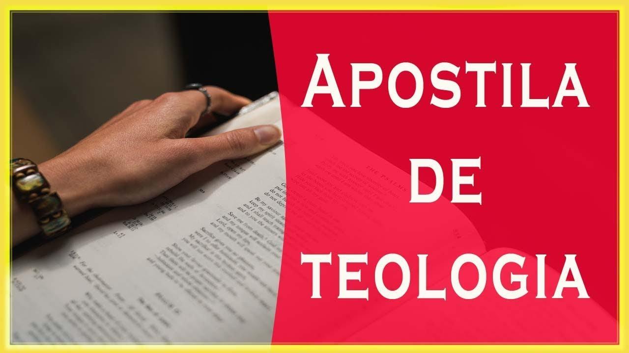 APOSTILA SISTEMATICA BAIXAR PARA TEOLOGIA DE