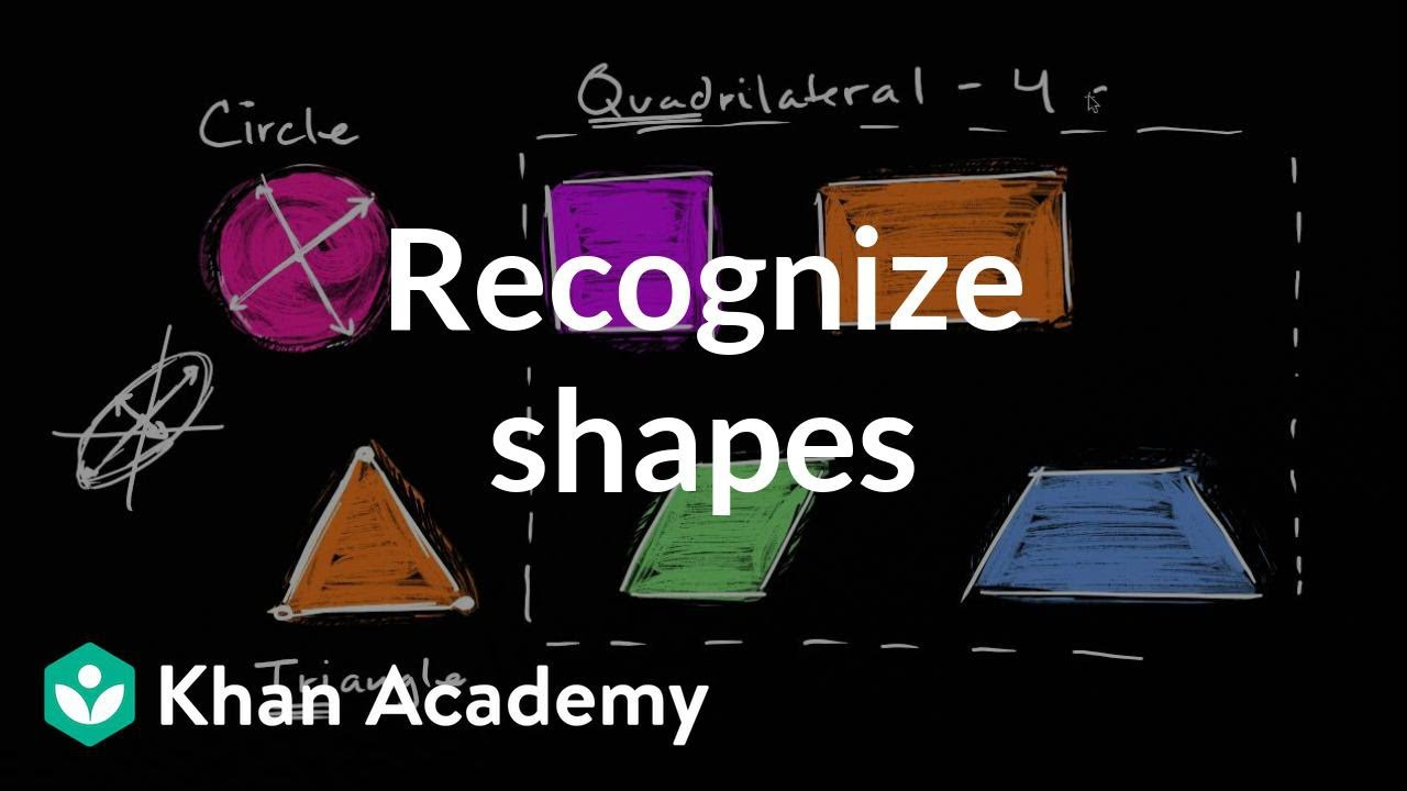 medium resolution of Recognizing shapes (video)   Geometry   Khan Academy
