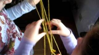 Cat's Cradle - String Tricks - Abnehmspiel - Ayatori - Fadenspiel - Hexenspiel,  Figures Game Play