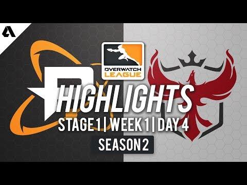 Philadelphia Fusion vs Atlanta Reign | Overwatch League S2 Highlights - Stage 1 Week 1 Day 4 thumbnail