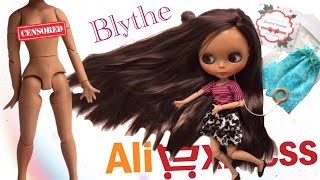 Милашка Blythe с Aliexpress!!обзор куколки^^
