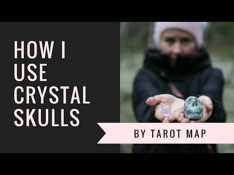 Crystal Skulls- how I use them and my skull family