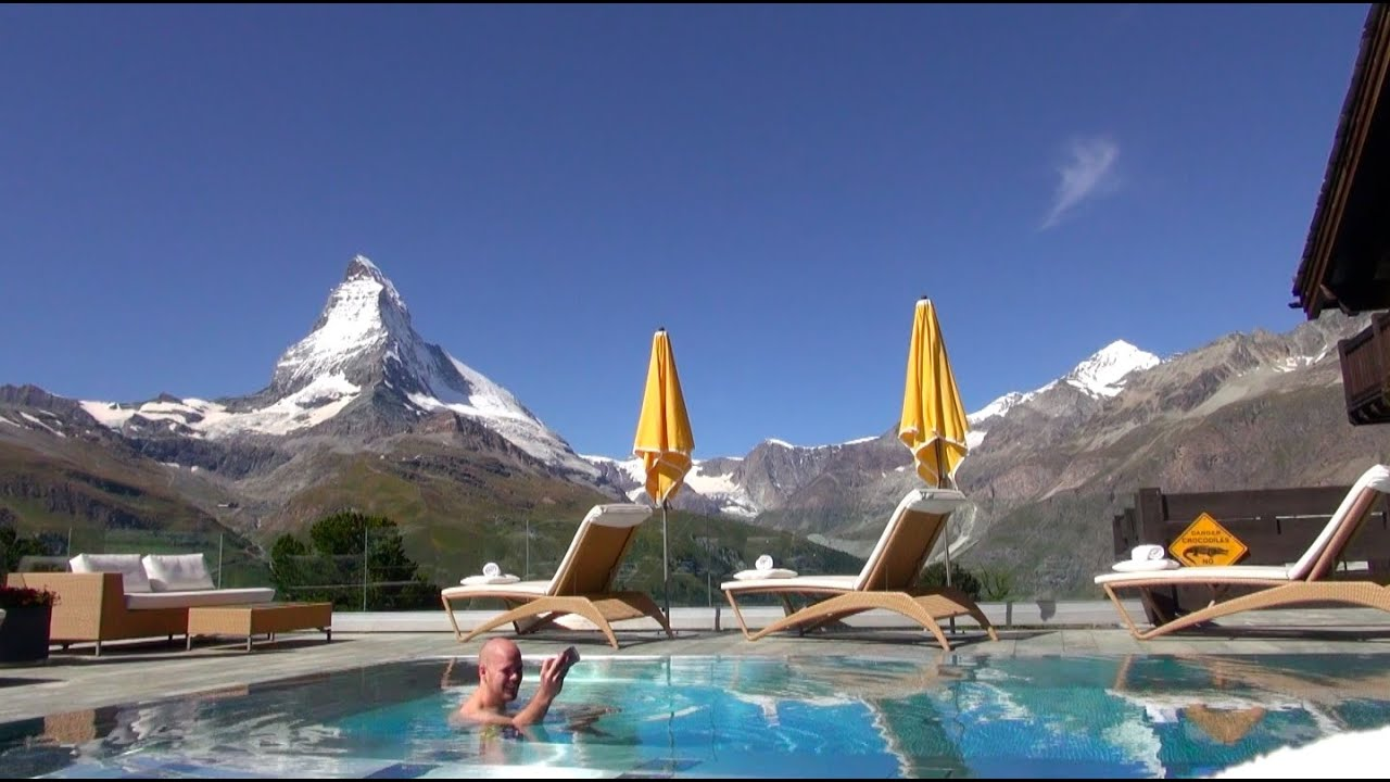 Swimmingpool Youtube Vlog Tag 23 - Riffelalp Resort Zermatt Inkl. Swimmingpool
