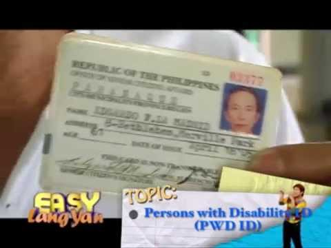 How to get PWD Card?