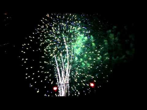 Fireworks 2012 in Waycross, Georgia