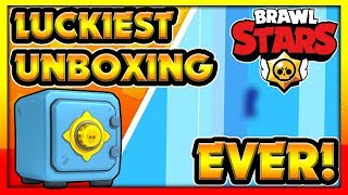 LUCKIEST Brawl Box Opening EVER! - The chances of this happening are 0.000625% or 1 in 160,000!