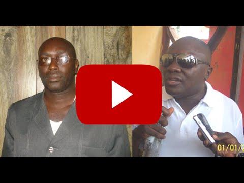 Two Sierra Leone Ministers Exhibit Voilence In Public