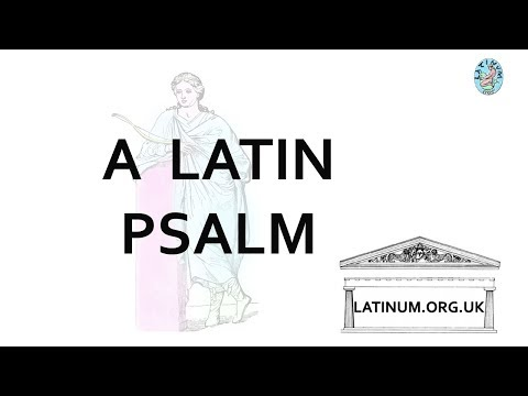 002 Daily Latin Psalm from the Psalterium Cisterciense
