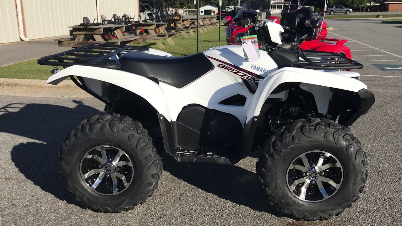 Yamaha Grizzly  White