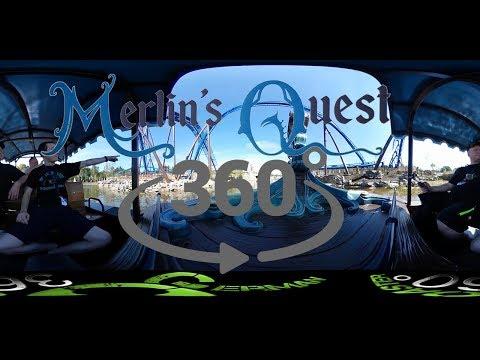 Merlins Quest | Freizeitpark Toverland | Onride 360° HD
