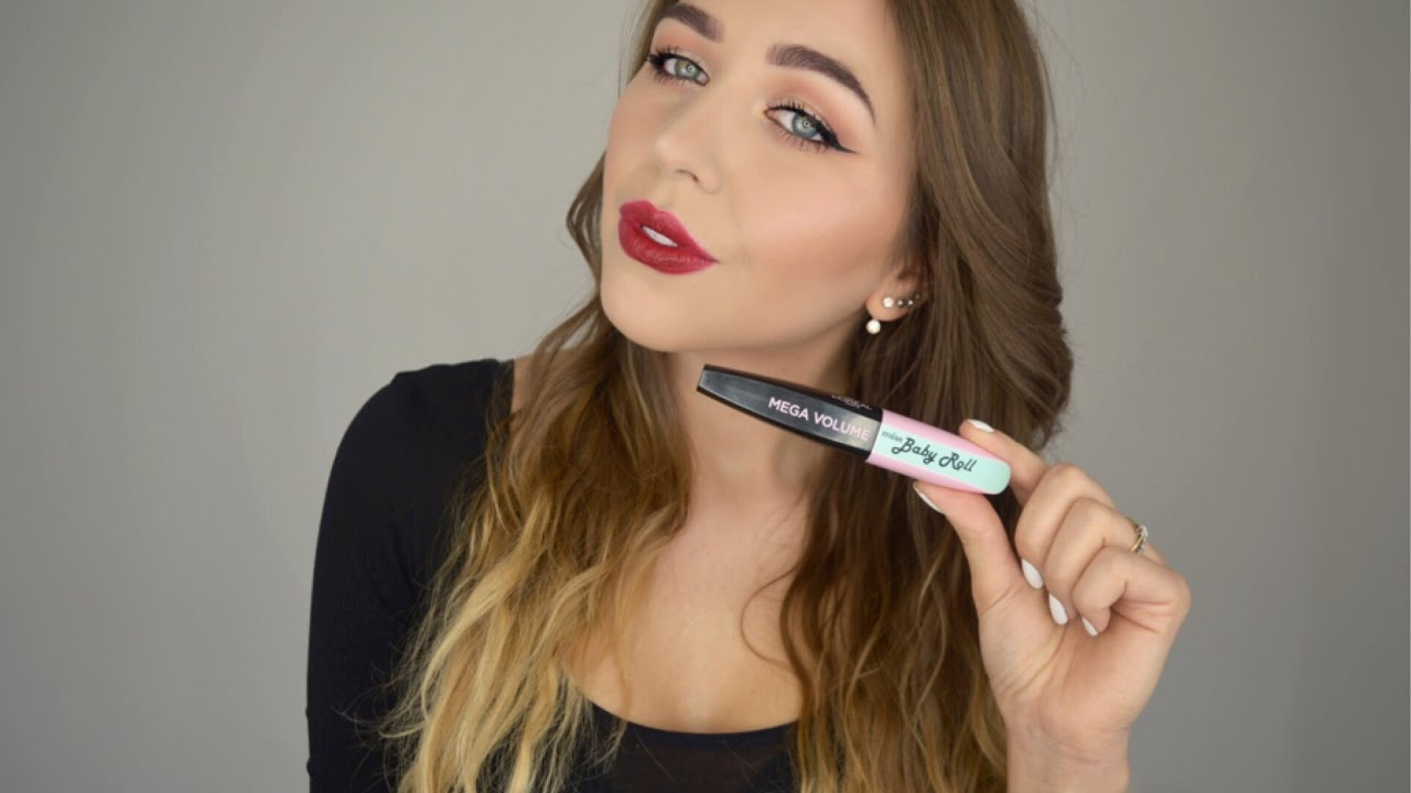 14580fae31f New Mega Volume miss BABY ROLL L'oréal Paris mascara Review| First  impressions