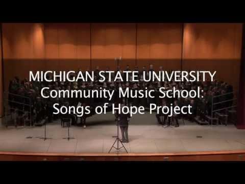 MSU Community Music School Children and Youth Choir Program