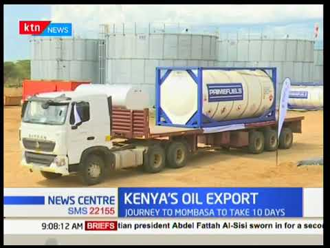 President Uhuru Kenyatta flags off crude oil trucking to Mombasa County - News Centre